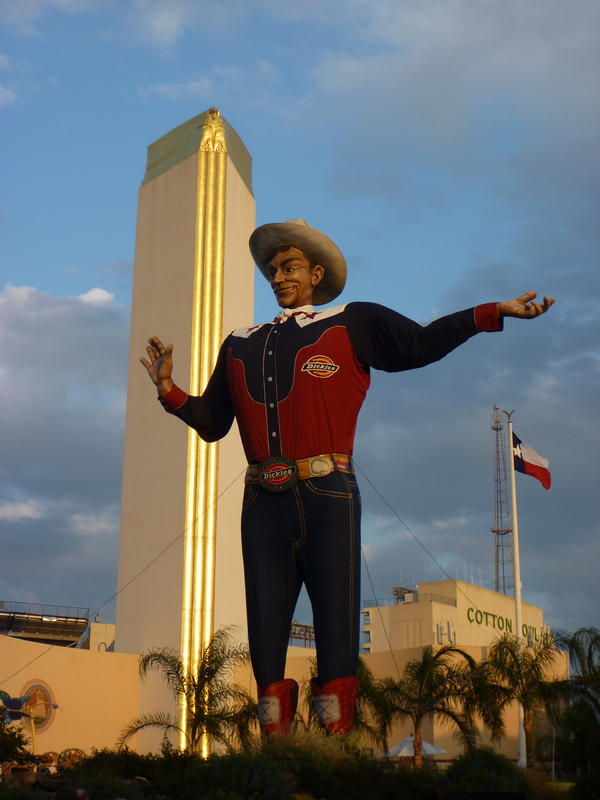 bigtex at the Texas State Fairgrounds