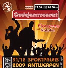 oudejaarsconcert sportpaleis Antwerpen