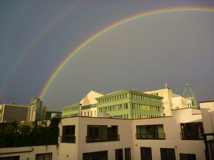 Rainbows over Brussels