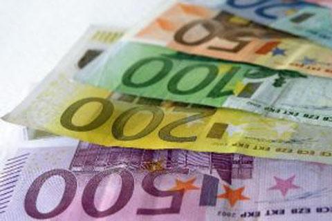 Euro Bank Notes Large