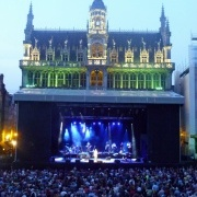Nighttime Grote Markt 11 July 2011