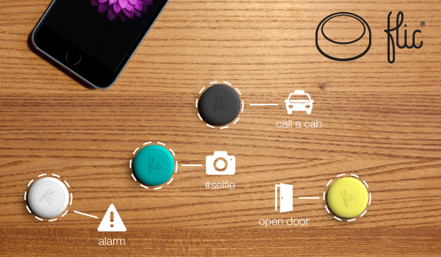 Flic-A-Button Iphone Gadget