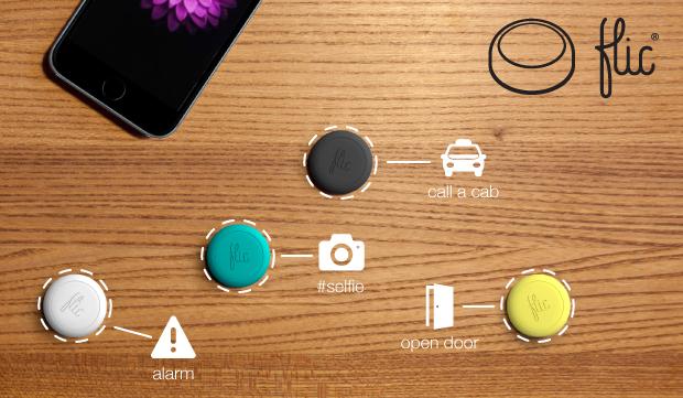 Flic-A-Button Iphone Gadget