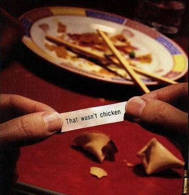 fortune cookie that wasn't funny