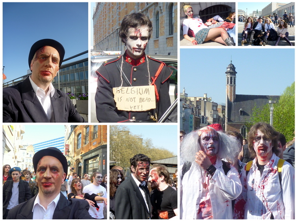 zombie day 2011 Brussels